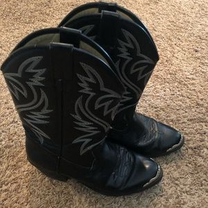 Other - Black cowboy boots